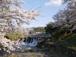 十二ヶ滝(H29年春撮影)